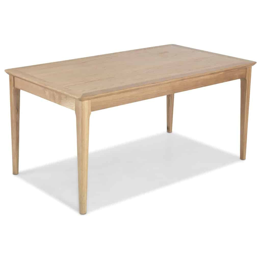 SYDNEY CONTEMPORARY SOLID WOOD OAK LARGE FIXED DINING