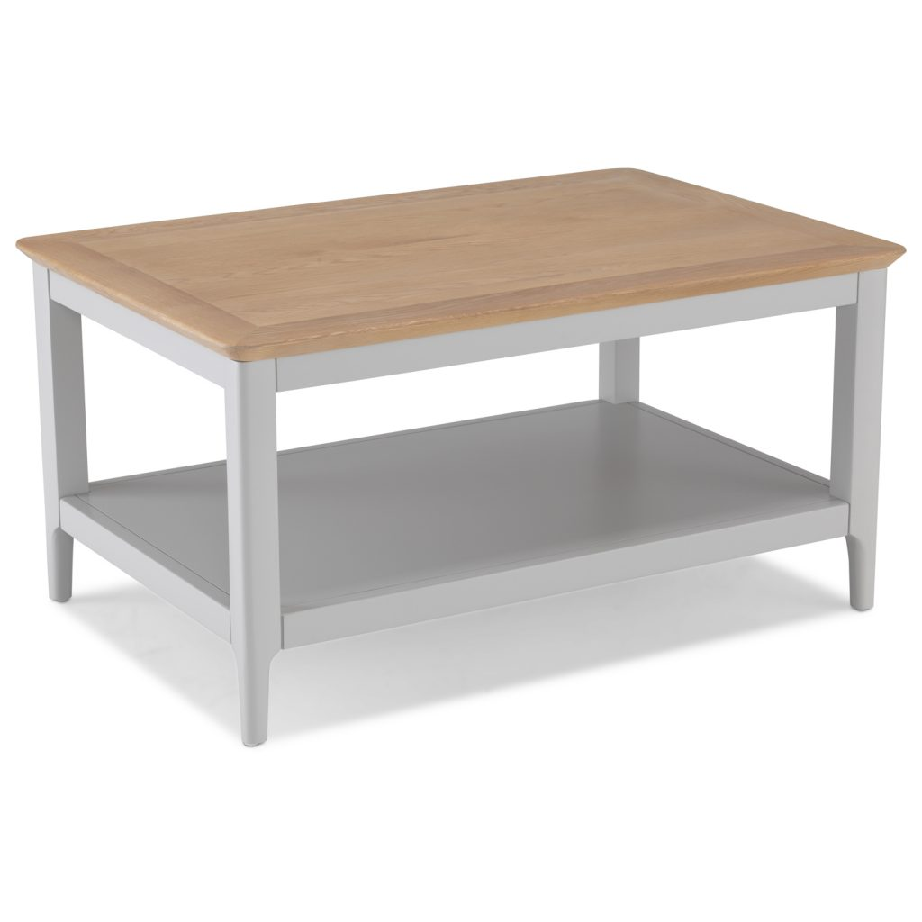 Brompton Grey Painted Oak Small Coffee Table