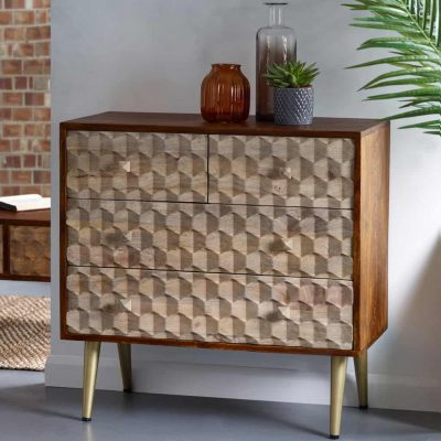 Alaska Solid Wood Chest Of Drawers